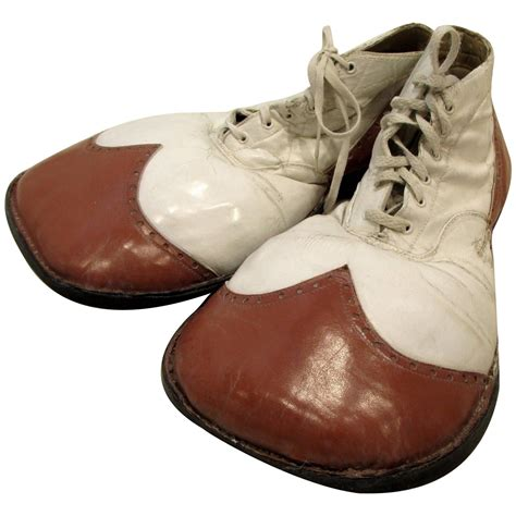 clown shoes vintage and white big clown shoes at 1stdibs