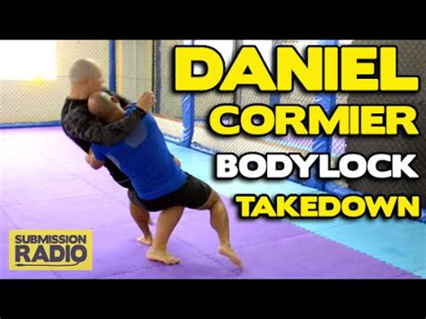 how do u a to outside how to do a daniel cormier bodylock outside trip crash takedown for mma