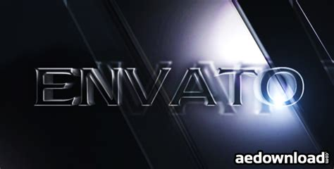 3d text template after effects 3d text effects project for after effects videohive
