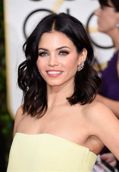 Jenna Dewan Short Hair | jenna dewan tatum medium wavy cut shoulder length