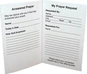 prayer request template free printable prayer request the template for the card