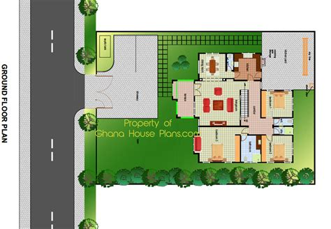 building plans for 3 bedroom house building plans 3 bedroom house ghana house design plans