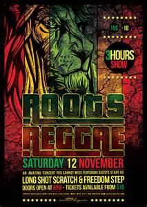 4 flyers psd reggae flyer templates thatsdesignstore