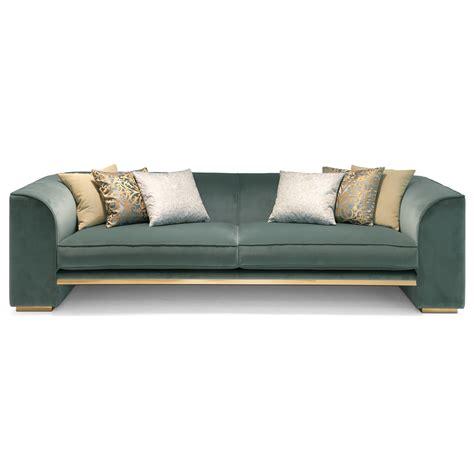 Velvet Modern Sofa 3 Seater Contemporary Designer Velvet Italian Sofa Juliettes Interiors