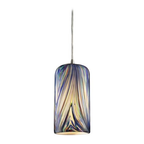 multi colored glass pendant lights modern mini pendant light with multi color glass 544 1mo