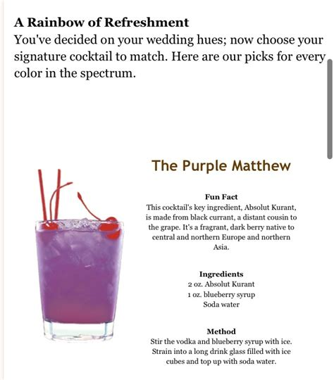 17 best ideas about purple signature drinks on pinterest