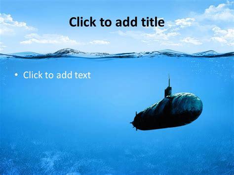 Underwater Ocean Powerpoint Template   Slidesbase