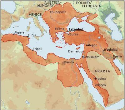 where were the ottomans located origins of ottoman empire