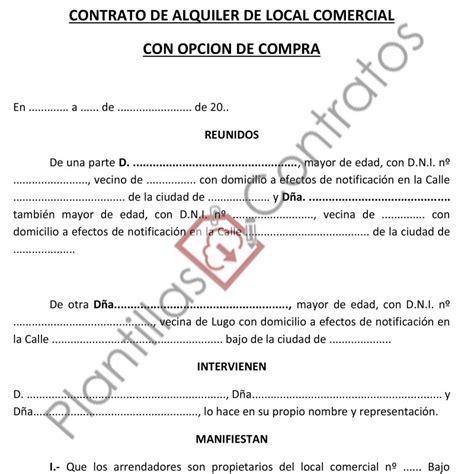 modelo contrato alquiler vivienda 2016 argentina modelo contrato alquiler vivienda para 2016
