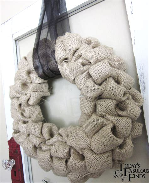how to make a wreath with burlap crafting on a budget diy burlap bubble wreath tutorial