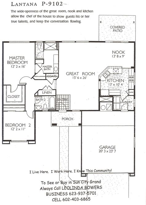 lantana floor plan find sun city grand lantana floor plans leolinda bowers