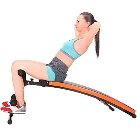 sit up ab bench incline decline feierdun adjustable workout sit up bench slant crunch board