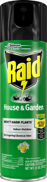 raid house and garden raid 174 house garden bug killer sc johnson