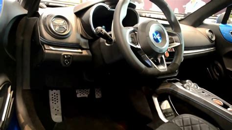 renault alpine interior renault alpine a110 2017 interior and exterior