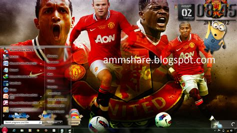 download themes for windows 7 manchester city theme manchester united windows 7 amm share