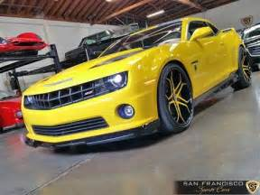 2012 chevy camaro bumblebee edition for sale