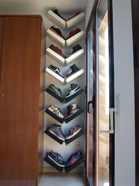 Rak Sepatu Biasa 6 desain rak sepatu minimalis unik dan tidak biasa ini