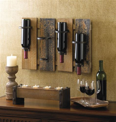 cheap home decor rustic wall mounted wine rack wholesale at koehler home decor