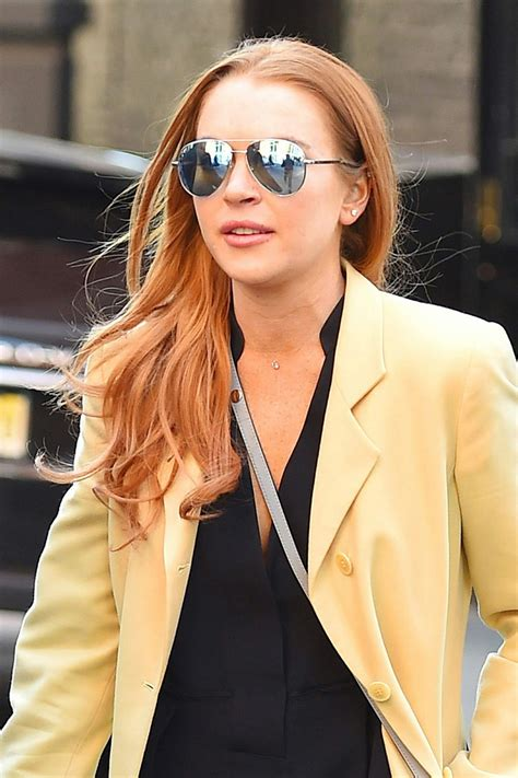Lohans New by Lindsay Lohan Out And About In New York Celebzz Celebzz