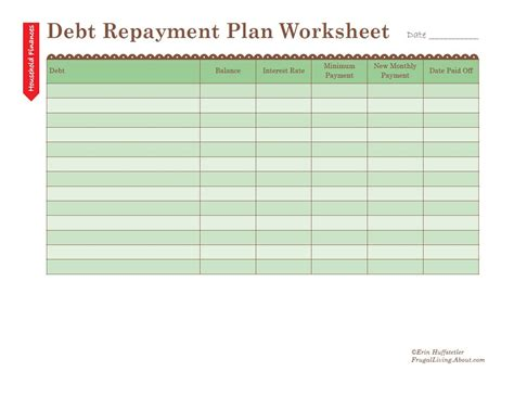 paying off debt worksheets in snowball budget spreadsheet achla co