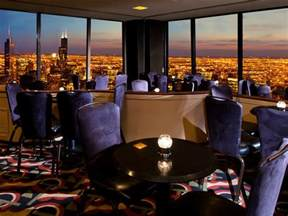 the signature lounge at the 96th bars in streeterville