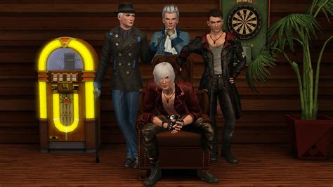 mod the sims dante devil may cry 4 the sims 3 devil may cry by tx slade xt on deviantart