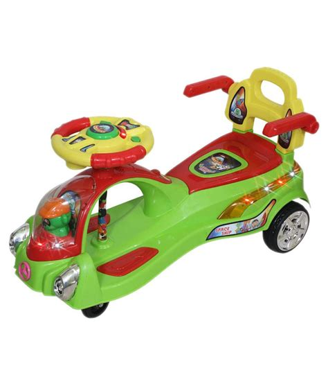 panda swing car panda green swing car snapdeal price toys deals at
