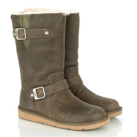 ugg 174 khaki kensington womens calf boot