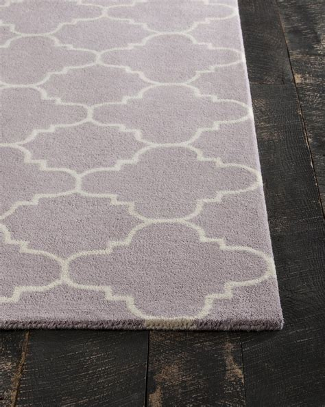 purple and white rugs davin collection tufted area rug in light purple white design b burke decor