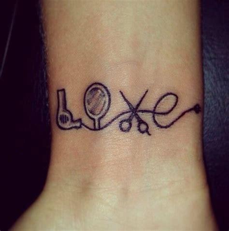 hair stylist tattoos designs best 25 hairstylist tattoos ideas on hair