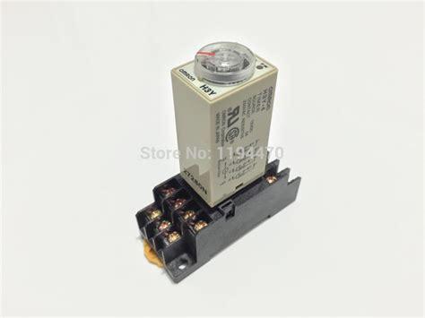 Timer H3y 4 C 10 Sec Dc 24v Omron Original 2 sets lot h3y 4 ac 220v 30s power on delay timer time relay 220vac 30sec 0 30 second 4pdt 14