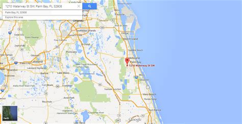map palm florida buildable lot for sale in palm bay florida land century