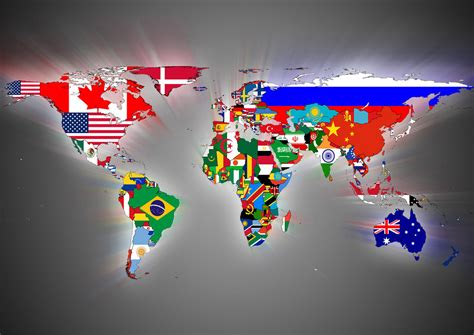 printable flags of the world a4 flag world map art print poster sizes a4 a3 a2 a1 00401