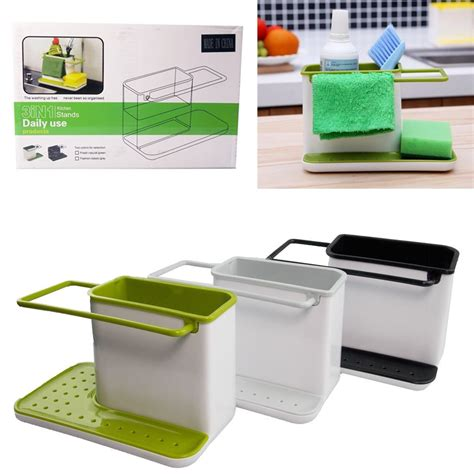 Kitchen Caddy Sink Organizer Uk Plastic Caddy Organizer Space Tidy Storage Racks Cabinet Kitchen Sink Holder Ebay