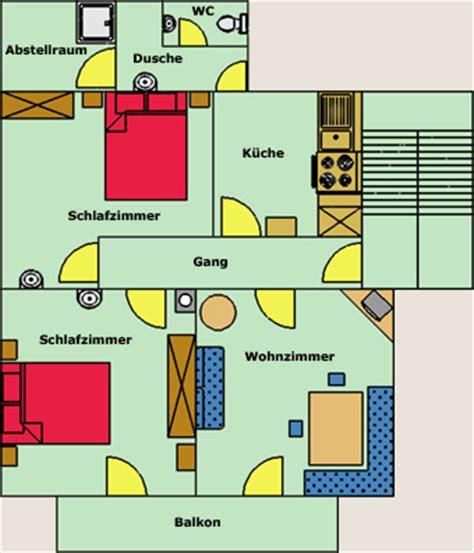 Feng Shui ferienwohnung appartement winkler silbertal wohnungsplan