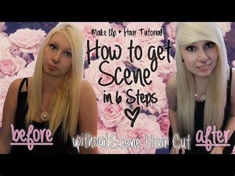 step by step emo haircut 6 steps to get scene without scene hair cut 2014
