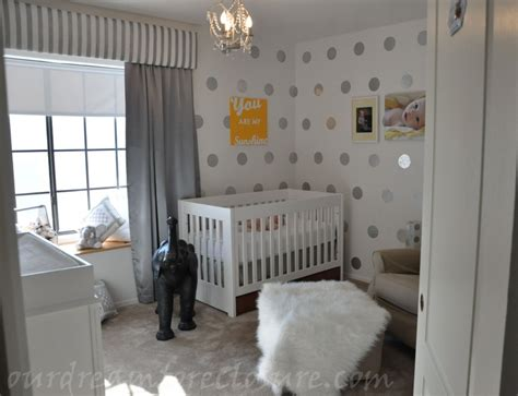 wallpaper for nursery modern whimsical mostly diy project nursery