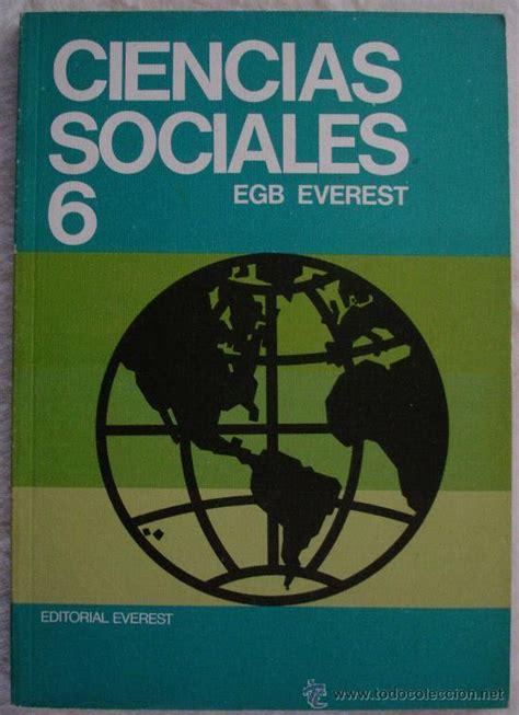 libro ciencias sociales mec 6 ciencias sociales 6 egb everest le 243 n comprar libros de texto en todocoleccion 25293645