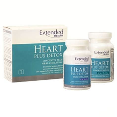 Ch Detox Pills by Extended Health Plus Detox Chelation Formula