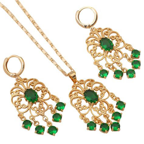 style jewelry nobby style 18k gold plated necklaces pendants drop