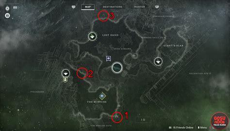 io map destiny 2 io lost sector locations
