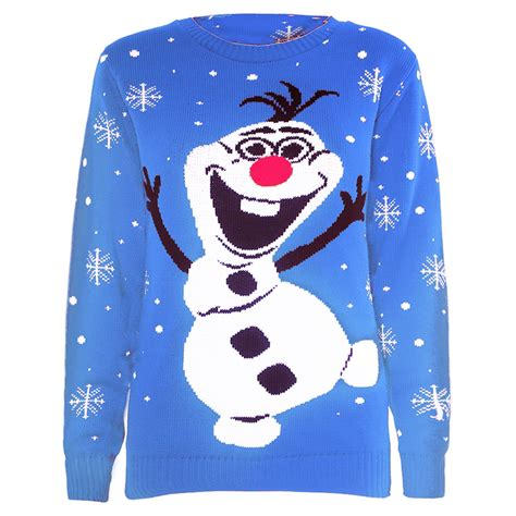 Sweater Frozen Clearance Sale Womens Novelty Rudolf Olaf Frozen