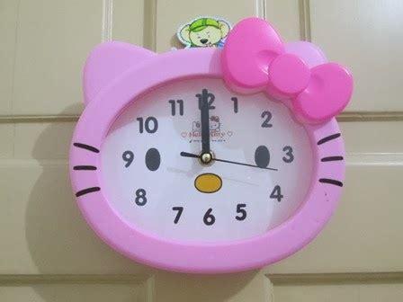 Lu Dinding Hello Pita Pink 1 taat shop jkt jam tangan dinding weker
