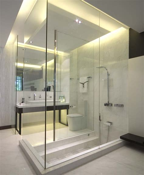 Modern Bathroom Shower Ideas Bathroom Design Ideas Sg Livingpod