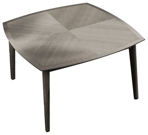 Shop Houzz Yumanmod Bloom Square Dining Table Fixed Grey Ash Dining Table
