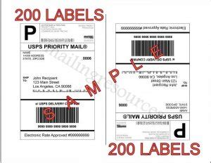Avery 8126 Shipping Labels Template