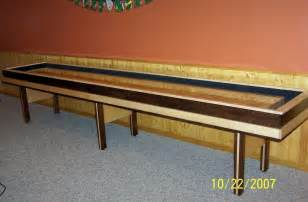 How To Make A Shuffleboard Table Woodworking Plans Diy Shuffleboard Table Plans Pdf Plans