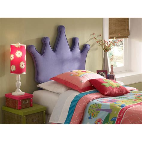 Perfect Twin Bed Headboard On Kids Bed Princess Crown Twin