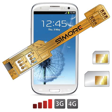 3g sim card into 4g template x galaxy s3 dualsim adapter for samsung galaxy s3