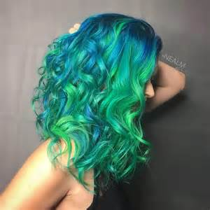 neon hair color electric eel hair color in neon hair colors ideas